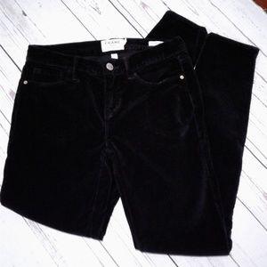 Frame Denim Pants - Frame Le Skinny de Jeanne Black Noir Pants